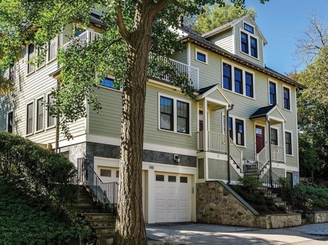 148 Mason Ter #2, Brookline, MA 02446 (MLS #72460471) :: Westcott Properties