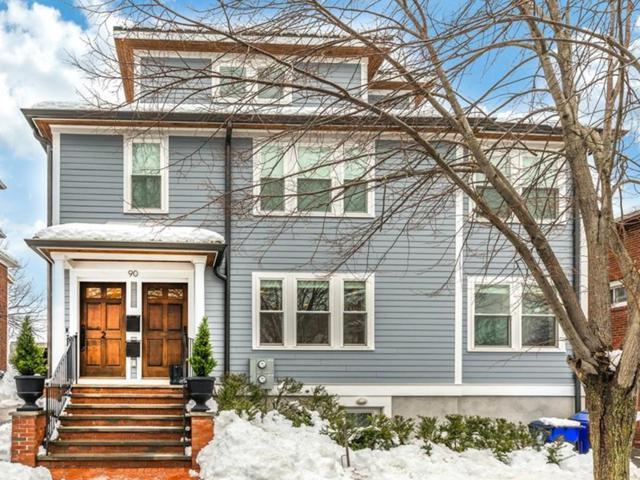 90 Lawton St #1, Brookline, MA 02446 (MLS #72460842) :: Westcott Properties