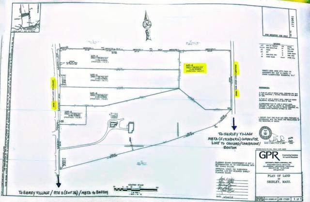 0 Benjamin Road   (Anr Lot 6), Shirley, MA 01464 (MLS #72462338) :: The Home Negotiators
