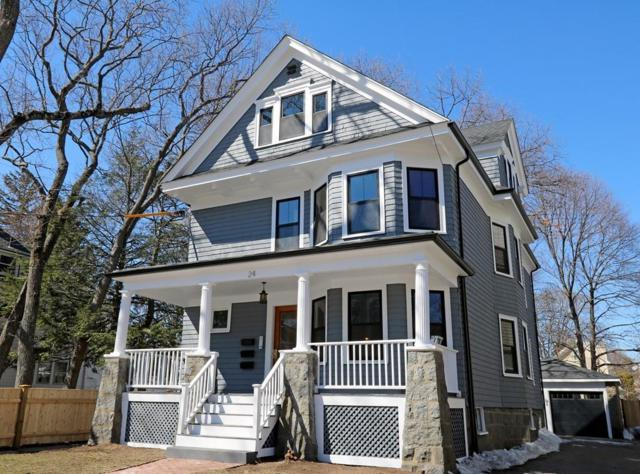 24 Houston Avenue #1, Milton, MA 02186 (MLS #72468394) :: Vanguard Realty