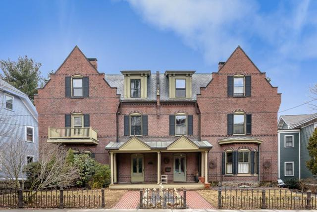 169 Walnut St #1, Brookline, MA 02445 (MLS #72473278) :: Vanguard Realty
