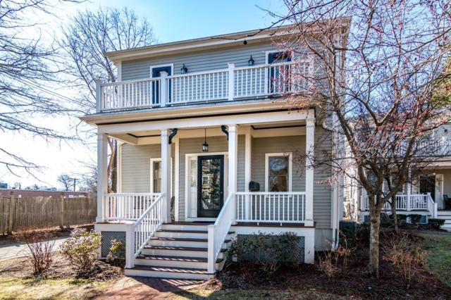 40 Pleasant St #40, Newton, MA 02459 (MLS #72481720) :: Vanguard Realty