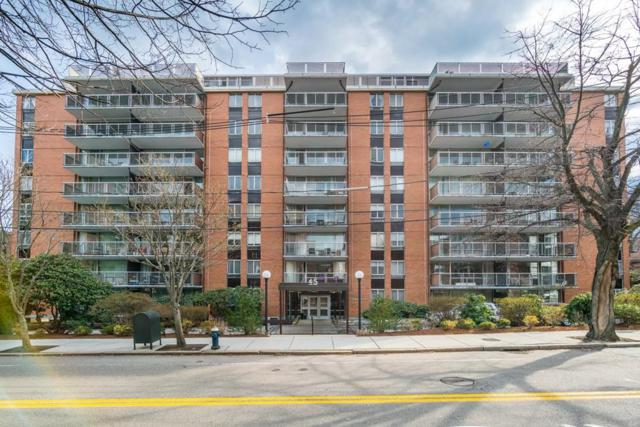 45 Longwood Ave #309, Brookline, MA 02446 (MLS #72483355) :: The Gillach Group