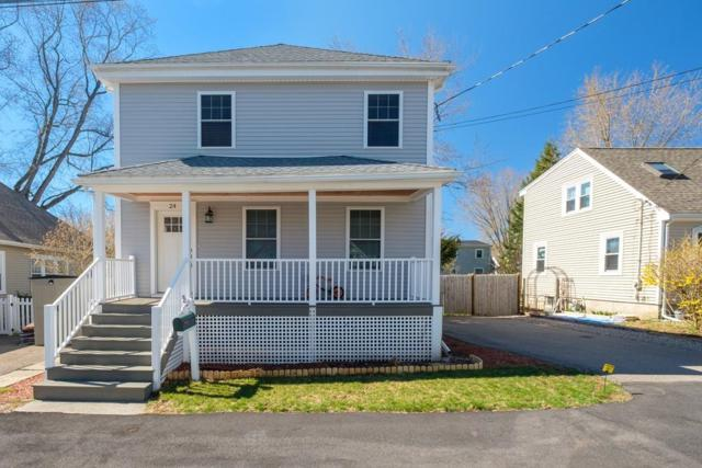 24 Fairfield Street, Dedham, MA 02026 (MLS #72483834) :: The Muncey Group