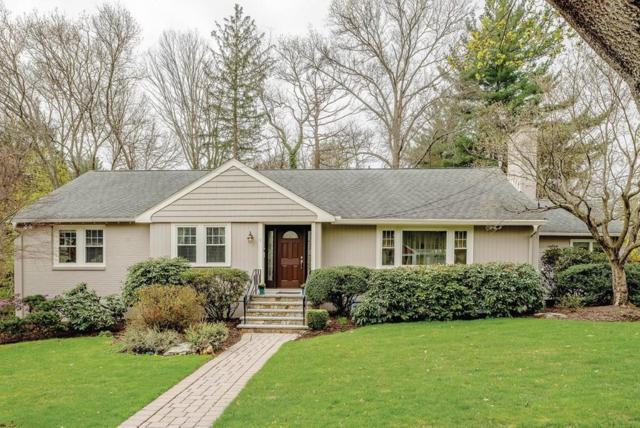 7 Spaulding Ln, Newton, MA 02459 (MLS #72486389) :: The Muncey Group
