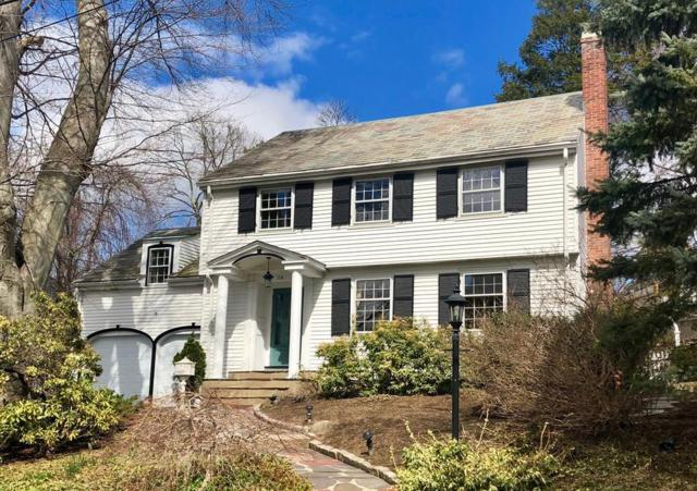 114 Hillside Ave, Newton, MA 02465 (MLS #72486792) :: The Muncey Group