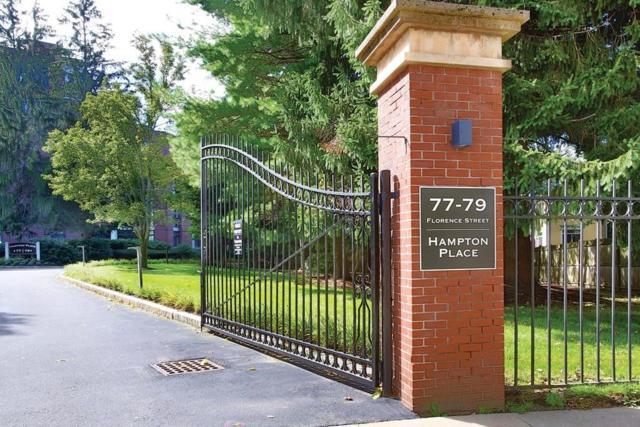 77 Florence Street 207N, Newton, MA 02467 (MLS #72490027) :: Apple Country Team of Keller Williams Realty