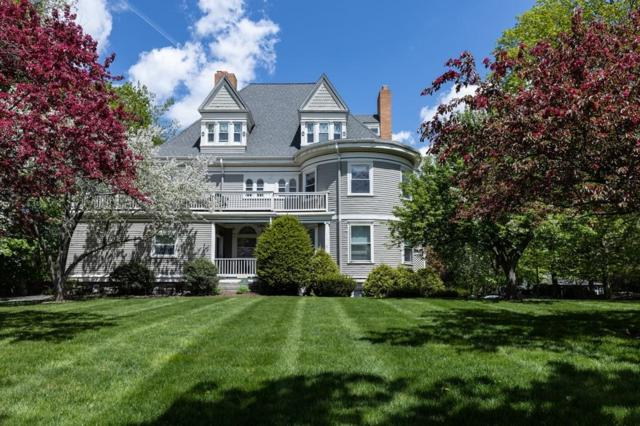 11 Washington St #4, Newton, MA 02458 (MLS #72496460) :: Welchman Real Estate Group | Keller Williams Luxury International Division