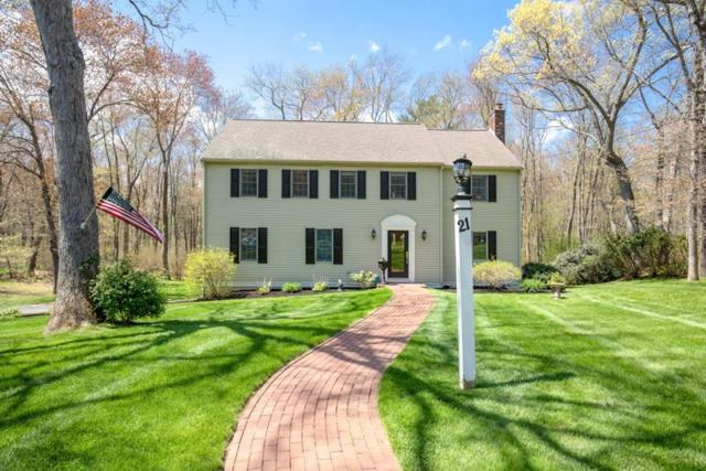 21 Stagecoach Road, Hingham, MA 02043 (MLS #72497015) :: Apple Country Team of Keller Williams Realty