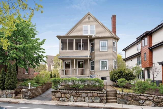 811 Heath St #811, Brookline, MA 02467 (MLS #72501688) :: Apple Country Team of Keller Williams Realty