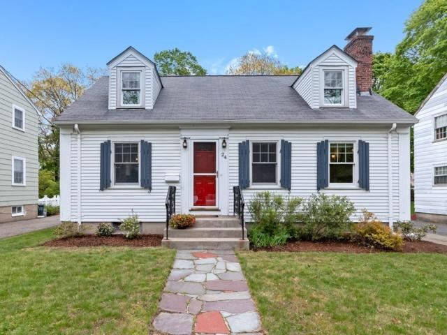 24 Freeman St #24, Newton, MA 02466 (MLS #72505416) :: Apple Country Team of Keller Williams Realty