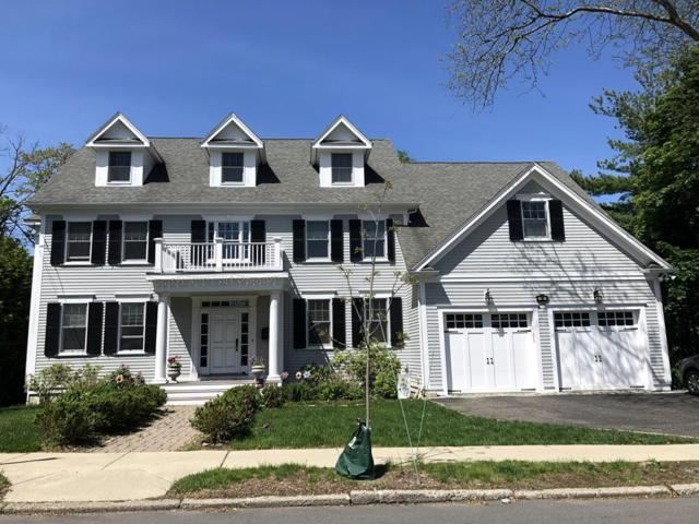39 Beethoven Ave, Newton, MA 02468 (MLS #72506262) :: The Gillach Group