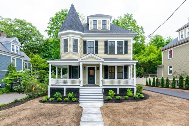 298 Central St, Newton, MA 02466 (MLS #72508447) :: The Russell Realty Group