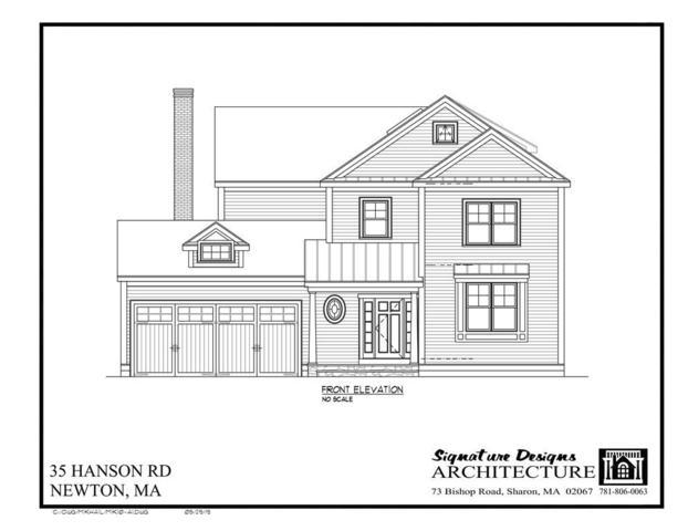 35 Hanson, Newton, MA 02459 (MLS #72514276) :: Vanguard Realty