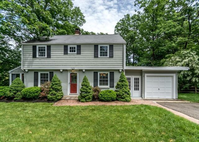 165 Thornton Road, Needham, MA 02492 (MLS #72517355) :: The Gillach Group