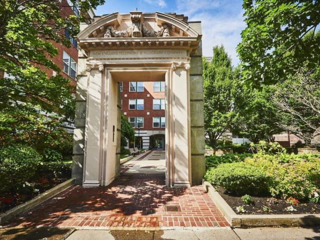25 Marion Street #46, Brookline, MA 02446 (MLS #72517475) :: The Russell Realty Group