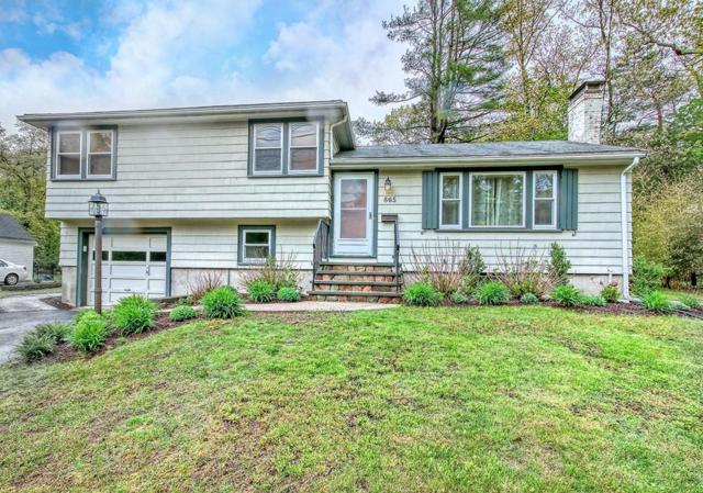 865 Gay Street, Westwood, MA 02090 (MLS #72522538) :: The Gillach Group
