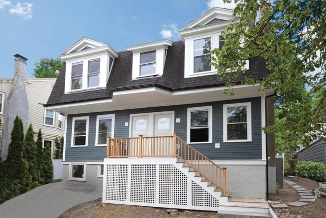 11 Ricker Terrace #1, Newton, MA 02458 (MLS #72525992) :: DNA Realty Group
