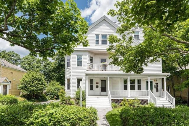 123 Norwood Ave #3, Newton, MA 02460 (MLS #72532304) :: The Gillach Group