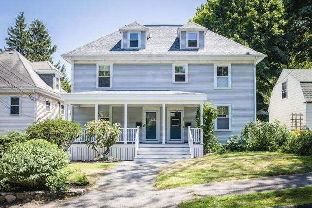 26 Knowles St #26, Newton, MA 02459 (MLS #72532864) :: The Russell Realty Group