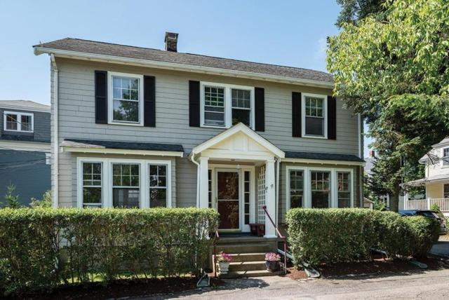 675A Hammond St, Brookline, MA 02467 (MLS #72535136) :: The Muncey Group