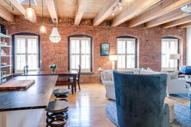 21 Wormwood St #517, Boston, MA 02210 (MLS #72535739) :: The Russell Realty Group