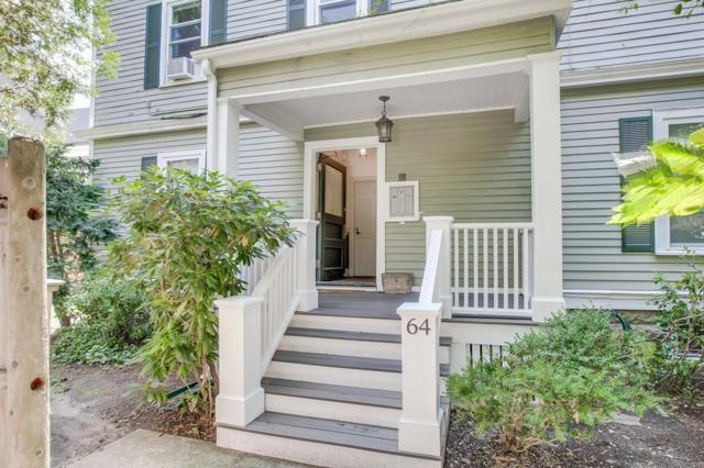 64 Prentiss St #2, Cambridge, MA 02140 (MLS #72536000) :: DNA Realty Group