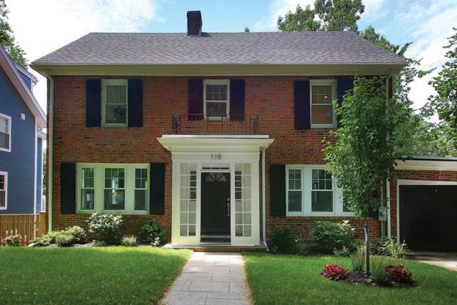 115 Wolcott Rd, Brookline, MA 02467 (MLS #72537235) :: The Muncey Group