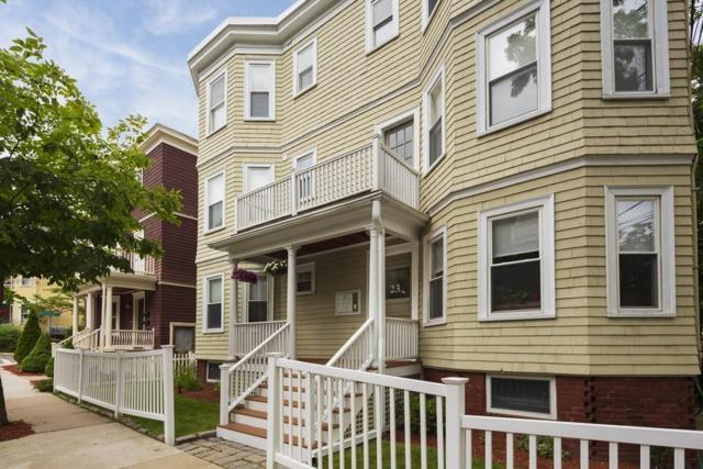 23 Cambridge Terrace #3, Cambridge, MA 02140 (MLS #72538765) :: Team Patti Brainard