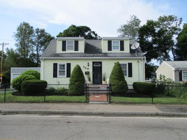 117 West Ashland St., Brockton, MA 02301 (MLS #72542115) :: The Muncey Group