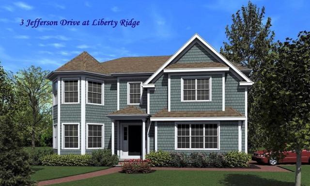 3 Jefferson Drive #3, Lexington, MA 02421 (MLS #72547333) :: Westcott Properties