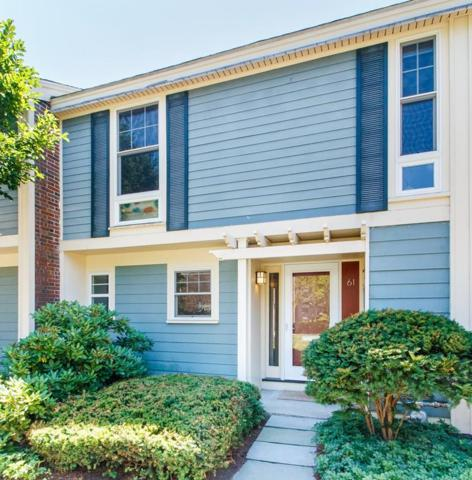 11 Oak St #61, Wellesley, MA 02482 (MLS #72549038) :: The Gillach Group