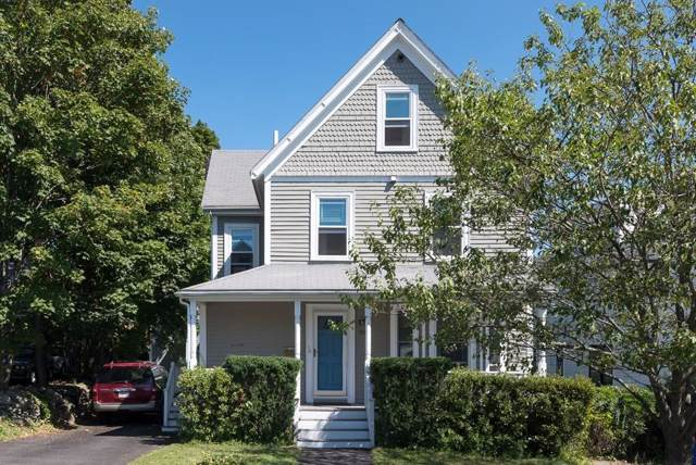 50-52 Cottage St #2, Newton, MA 02464 (MLS #72558625) :: DNA Realty Group