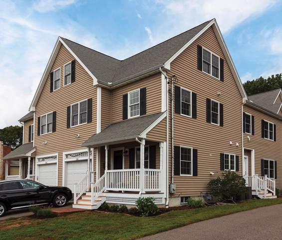 338 Hunnewell Street #338, Needham, MA 02494 (MLS #72562787) :: The Gillach Group