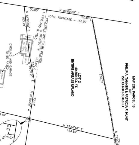 Lot 2 Center St., Easton, MA 02356 (MLS #72565649) :: Vanguard Realty
