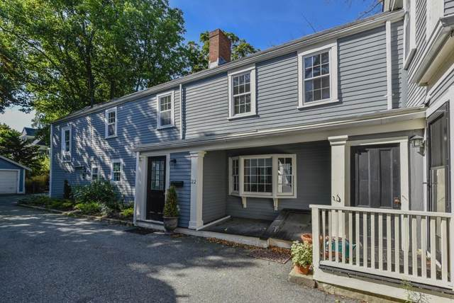 22 Church #22, Dedham, MA 02026 (MLS #72566087) :: Trust Realty One