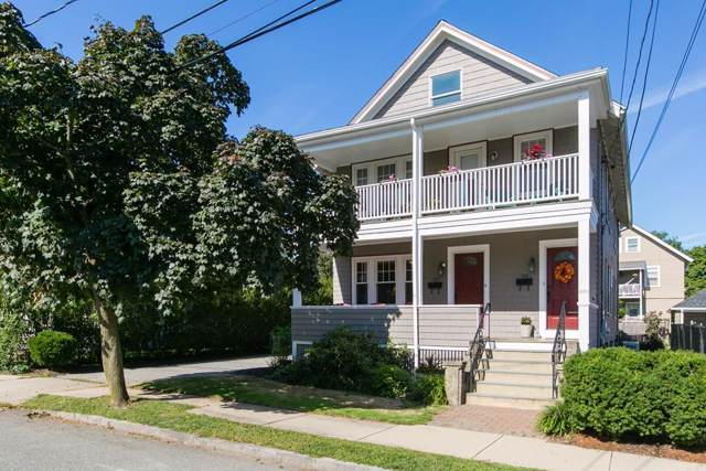 144 Palmer St. #1, Arlington, MA 02474 (MLS #72567614) :: Welchman Real Estate Group