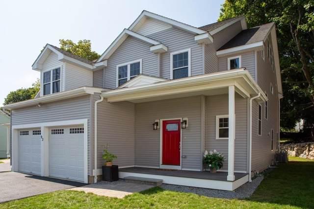 93 Calvary Street #1, Waltham, MA 02453 (MLS #72568450) :: Vanguard Realty