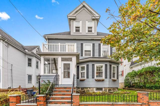 15 Tapley Avenue, Revere, MA 02151 (MLS #72589216) :: The Muncey Group