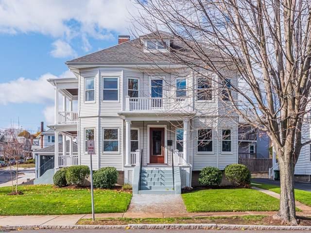 151 Maplewood Street, Watertown, MA 02472 (MLS #72591919) :: Vanguard Realty
