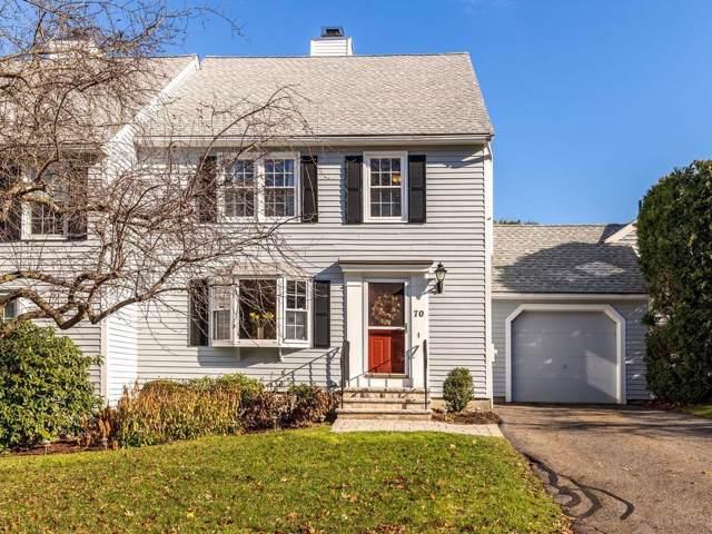 70 Fairway Circle #70, Natick, MA 01760 (MLS #72597507) :: Westcott Properties