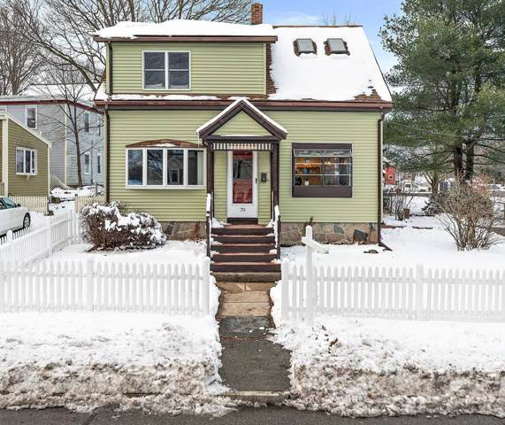 70 E Water St, Rockland, MA 02370 (MLS #72598544) :: The Gillach Group