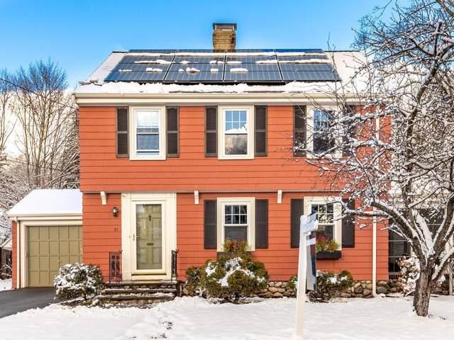 21 Belmont Pl, Melrose, MA 02176 (MLS #72600663) :: Spectrum Real Estate Consultants