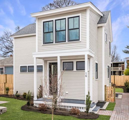 16 Jackson #16, Cambridge, MA 02140 (MLS #72609301) :: Zack Harwood Real Estate | Berkshire Hathaway HomeServices Warren Residential