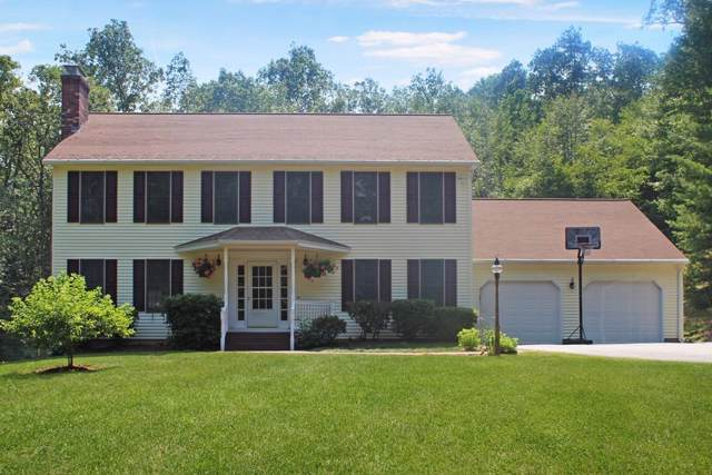 50 Ragged Hill Rd, West Brookfield, MA 01585 (MLS #72611440) :: EXIT Cape Realty