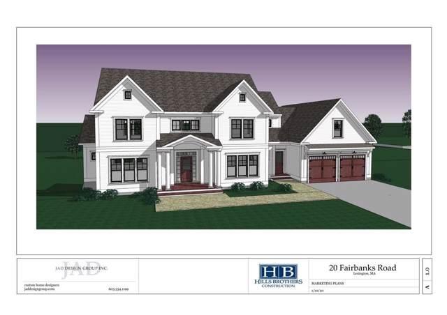 20 Fairbanks Rd, Lexington, MA 02421 (MLS #72611856) :: Westcott Properties