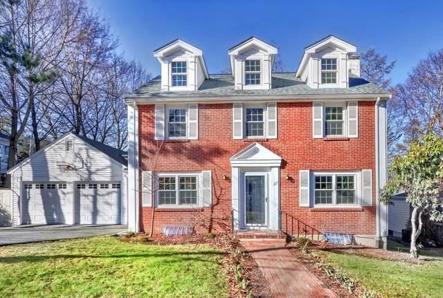67 Woodlawn Dr, Newton, MA 02467 (MLS #72612773) :: Berkshire Hathaway HomeServices Warren Residential