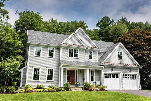 46 Pilgrim Rd, Wellesley, MA 02481 (MLS #72621157) :: The Gillach Group