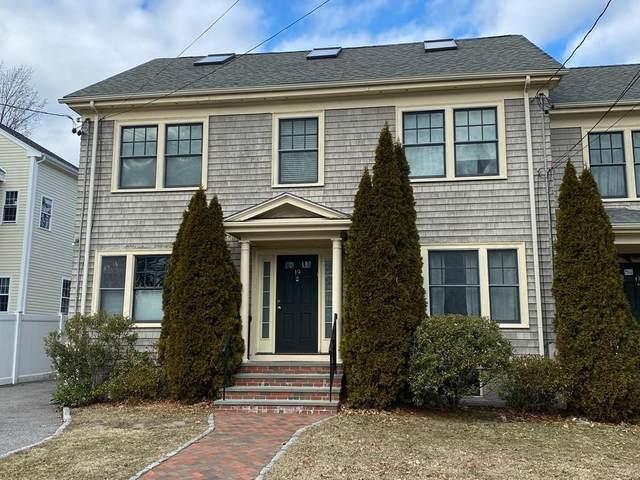 19 Indiana Terrace #19, Newton, MA 02462 (MLS #72621471) :: The Gillach Group