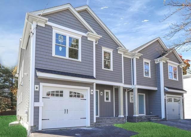 9 Oak Ave #9, Newton, MA 02465 (MLS #72621515) :: The Gillach Group